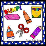 FREEBIE! Back to School BUMP Game Board