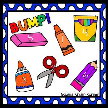 FREEBIE! Back to School BUMP Game Board