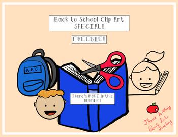 FREEBIE! Back to School Clip Art