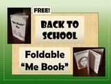 """FREEBIE: Back to School Foldable """"Me Book"""" - First Day of School Activity"""