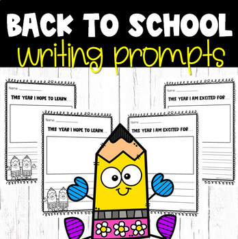 FREEBIE: Back to School Writing Prompts