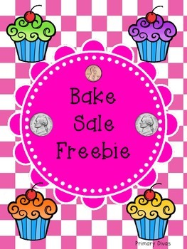 **FREEBIE** Bake Sale Money Match