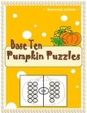 **FREEBIE** Base 10 Pumpkin Puzzles