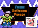 FREEBIE Bathroom Passes