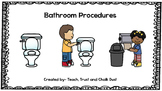 FREEBIE Bathroom Procedures