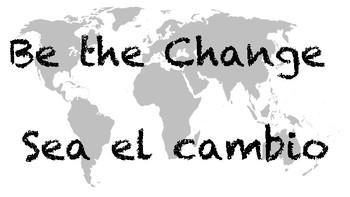 FREEBIE Be the change Sea el Cambio