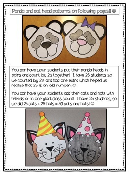 FREEBIE- Bears in Pairs/Cats and Hats