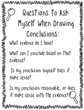 *FREEBIE* Becoming a Drawing Conclusions Detective!