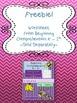 FREEBIE! Beginning Comprehension for K - 1st Grade