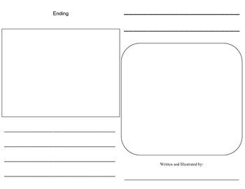 FREEBIE Beginning, Middle, Ending Writing Booklet
