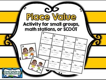 {FREEBIE} Beginning Place Value Practice