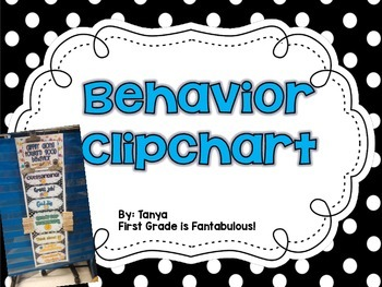 {FREEBIE} Behavior Clipchart