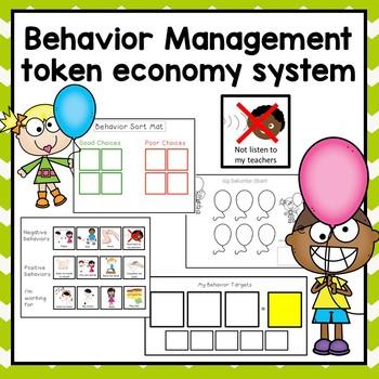 FREE Behavior Management Token Economy. Autism ADHD Speech