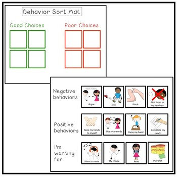 FREE Behavior Management Token Economy. Autism ADHD Speech