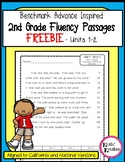 FREEBIE - Benchmark Advance 2nd Grade Fluency Passages