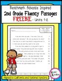 FREEBIE - Benchmark Advance 2nd Grade Fluency Passages (2017- 2022)