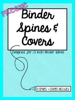 binder spines