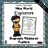 FREEBIE - Biography Research Project Poster | Explorers | Ferdinand Magellan