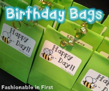 {FREEBIE} Birthday Bag Labels