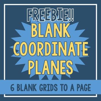 FREEBIE - Blank Coordinate Planes