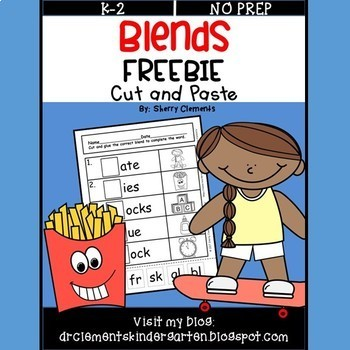 FREEBIE Blends (Cut and Paste)