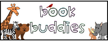 FREEBIE Book Buddies Label