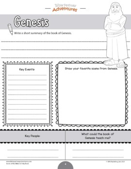 FREEBIE Books of the Bible coloring worksheets