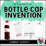 FREEBIE: Bottle Cap Invention *Media Literacy and Paragraph Writing*