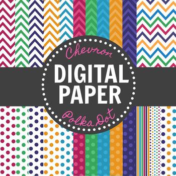 FREEBIE- Bright & Bold Digital Paper Pack