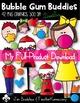 Bubble Gum Buddies KIDS MINI DOWNLOAD Clip Art ~ Doodles