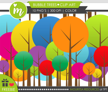 FREEBIE! Bubble Trees [Mouritsa's Class]