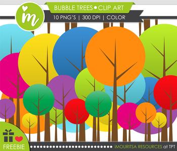 FREEBIE! Bubble Trees [Mouritsa's Class]