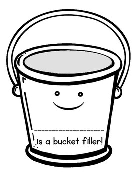 FREEBIE: Bucket Filler Bulletin Craftivity