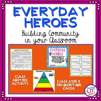 FREEBIE! Building Community Heroes