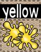 FREEBIE: Burlap Color Posters