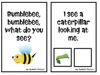 Butterfly, Butterfly, What do you see? An Interactive Adapted Book