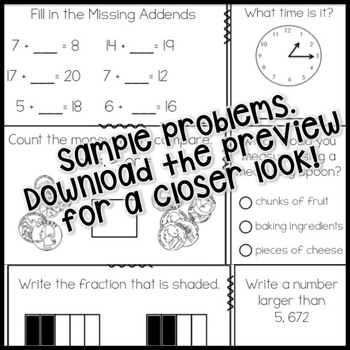 "FREEBIE CCSS aligned Math Morning / ""Do Now"" Work"