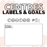 FREEBIE | CENTERS AND GOALS