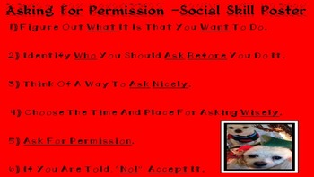 CHRISTMAS EDITION Asking For Permission Social Skill NO PPT  SPED/Autism/ELD