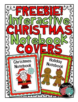 FREEBIE!  CHRISTMAS Interactive Notebook Covers