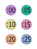FREEBIE - CLOCK LABELS