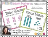 FREEBIE!  COMMON CORE Math Posters for Kindergarten and Fi