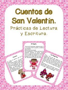 CUENTOS DE SAN VALENTIN. LECTURAS DE COMPRENSIÓN