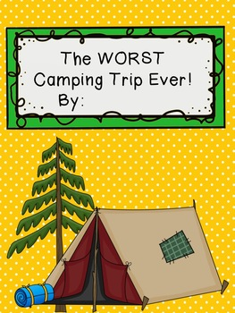 FREEBIE Camp Theme Book Cover