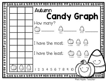 FREEBIE--Candy Corn Graph for K-2