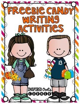 FREEBIE Candy Descriptive Writing Activities