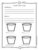 FREEBIE Candy Heart Cup Science