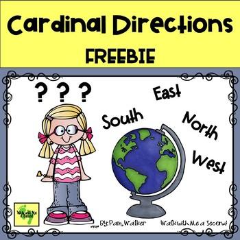 FREEBIE Cardinal Directions