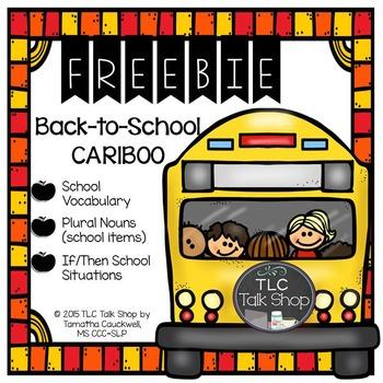FREEBIE  Cariboo Back to School