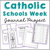 FREEBIE! Catholic Schools Week Mini Notebook Journal Project